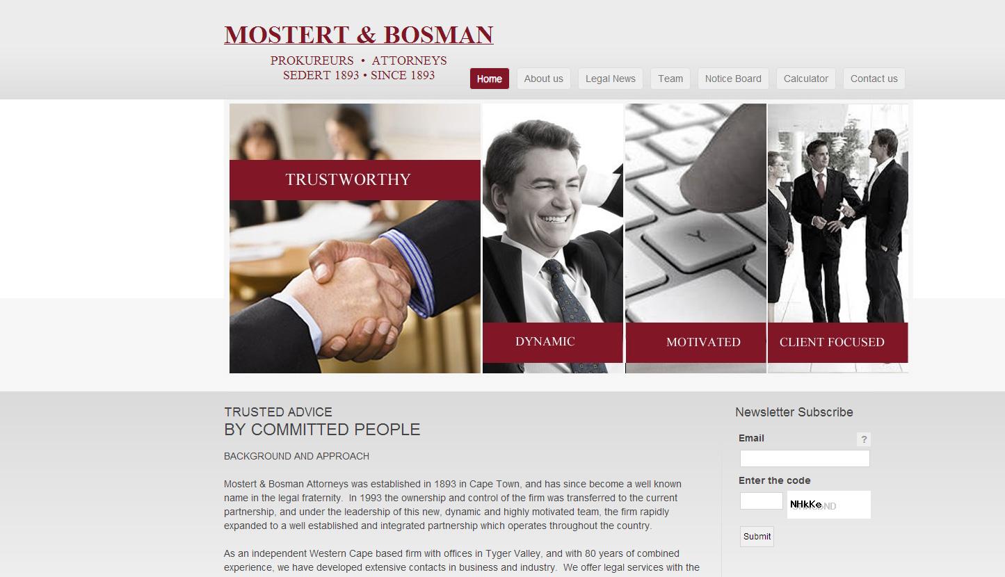 Mostert & Bosman